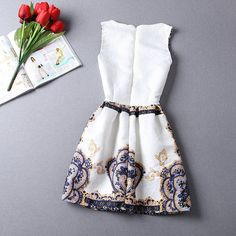Awesome Design Dress Casual Round Neck Floral Print Mini Dress – Daisy Dress For Less. Summer Formal Dresses, Dresses For Less, Cheap Dresses, Simple Dresses, Dress Up, Daisy Dress, Ball Gown Dresses, Dresses Dresses, Freakum Dress