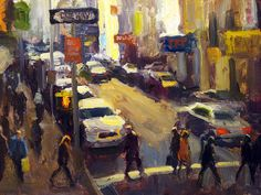 Downtown Shadows by Ken Valastro http://fineartamerica.com/featured/downtown-shadows-ken-valastro.html