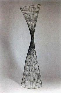 Glenn Murray Wire Sculpture ~ idée de miniature / bâtiment