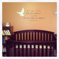 1000 images about carpenter 39 s harry potter nursery on pinterest harry potter nursery harry - Harry potter crib set ...
