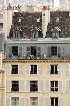 Paris rooftop
