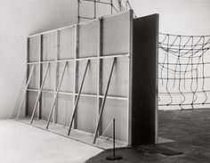 Bruce Nauman, Performance Corridor, 1969. Wallboard and wood, 96 x 240 x 20 inches (243.8 x 609.6 x 50.8 cm). MOVEMENT Post-Minimalism