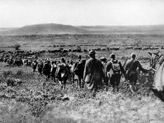 American troops marching into the St. Mihiel salient on the morning of September 12, 1918
