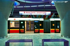 Nowy Świat - Uniwersytet, Metro Warszawskie