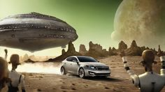Who wins this race?  A) Optima – you know it!  B) UFO – come on, what's the matter with you?  #Kia #Optima #Tallahassee