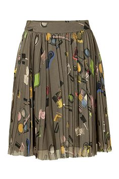 fantasi shopper, silk skirt, style inspir, fashion style, candi sweet, candies, sweet print, skirt discov, print silk