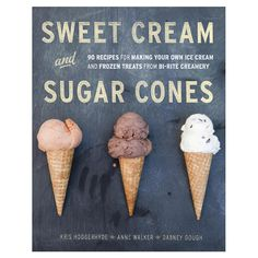 Sweet Cream and Sugar Cones   Nice cover