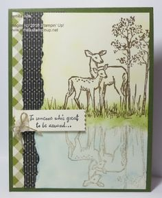 Jamilla's Stampin' Grounds: MM147 - In the Meadow  Video: http://jamillastampingrounds.blogspot.ca/2016/01/the-reflection-video.html