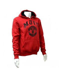 ec510837b54 Manchester United Red Crest Mens Hoody - XL  Manchester United  Football   Hoody Manchester United