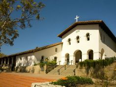 The Perfect Weekend Getaway in San Luis Obispo. Mission San Luis Obispo de Tolosa in downtown San Luis Obispo, California.
