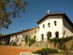 The Perfect Weekend Getaway in San Luis Obispo. Mission San Luis Obispo de Tolosa in downtown San Luis Obispo, California.