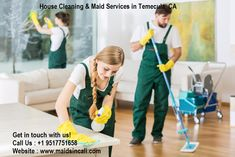 Maidsincali provide a best cleaning maids who give you a perfect clean house in a given time duration. We know that a sparkling home can make you feel more relaxed if neighbors or family members stop by. Help you enjoy more time in your city.