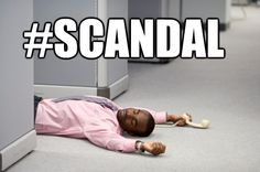 "IN CONCLUSION: | 9 Times I Screamed During The ""Scandal"" Season 2 Finale"