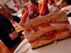 手作りいちごのショートケーキ!#いちご #ストロベリー #ケーキ #fragora #ショートケーキ #食べる #ドルチェ #美味しい #デザート