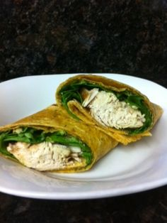 Use the slow cooker for this healthy meal. Enjoy Balsamic Chicken with a side or as a Chicken Wrap. #cleaneating