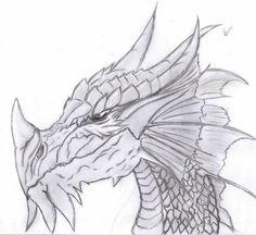 Cantinho Beatriz Shaina: Desenho Dragão