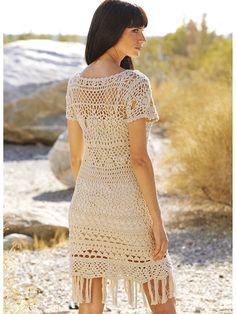 TENDENCIAS de la moda exclusivo ganchillo vestido por LecrochetArt