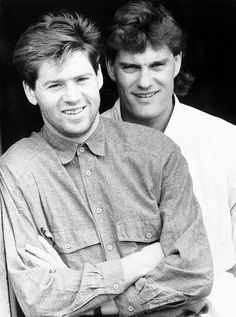 England and Tottenham duo Glenn Hoddle and Chris Waddle, May 1987 Art Print Classic Football Shirts, Retro Football, Football Art, College Football, Chris Waddle, Tottenham Hotspur Fc, European Soccer, Fc Chelsea, Zinedine Zidane