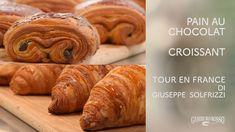 Croissant e Pain au chocolat - Tour en France di Giuseppe Solfrizzi - Video Gambero Rosso TV