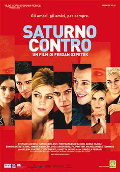 """Poster Saturno contro"" di  Ferzan Özpetek (2007)"