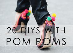Bromeliad: 20 DIYs with pom poms - Fashion and home decor DIY and inspiration