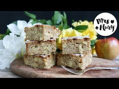 Apfelkuchen low carb – schnell und lecker | Mrs Flury - Recipes. Lovely, Easy & with a healthy touch
