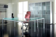 glass desk and cupboard office furniture gallery