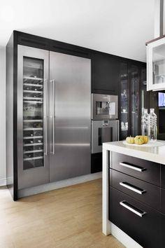 ♂ Modern minimalist design interior kitchen House Madrid