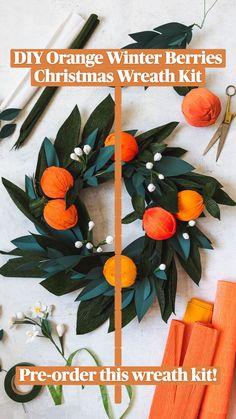 Christmas Hanukkah, Winter Christmas, Christmas Time, Christmas Wreaths, Christmas Decorations, Xmas, Fun Crafts For Kids, Creative Crafts, Diy And Crafts