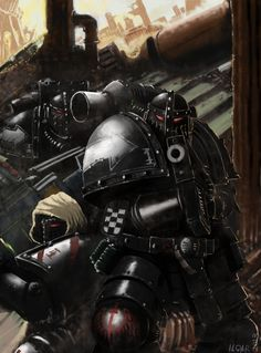 Pre Heresy Dark Angels by Ilqar.deviantart.com on @deviantART