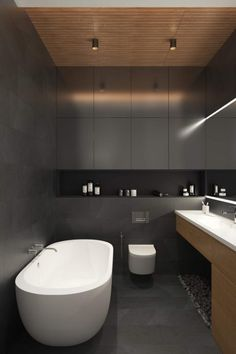 Contemporary apartment located in Moscow, Russia, designed by Geometrium DSGN.