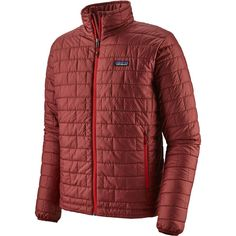 Warm, windproof, water-resistant—the Patagonia Men's Nano Puff® Jacket uses warm, lightweight and highly compressible PrimaLoft® Gold Insulation Eco. Patagonia Down Sweater, Patagonia Nano Puff, Ski Touring, Jaco, Vinyasa Yoga, Yoga Flow, Yin Yoga, Sweater Jacket, Jackets