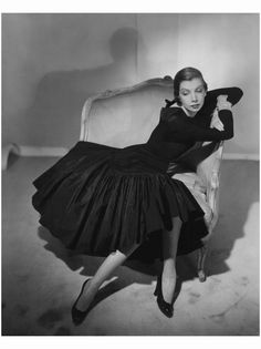 Pauline Rothschild, 1950 Horst P. Horst, Vogue, March 1, 1950