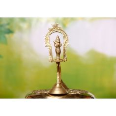 As part of the ritualistic worship of the Lord, different kinds of souda upachar deep are used to worship different Gods in the Hindu culture. Trishul, Brass Lamp, Deep, Decorative Bells, Traditional, Stuff To Buy, Design, Products
