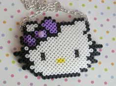 HK perler bead necklace