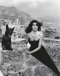lelaid: Princess Caroline of Monaco by Helmut Newton, 1986