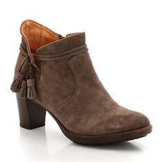 810149446 Leather Side Zip Boots Side Zip Boots, Ankle Boots, Natural Rubber, Heels,