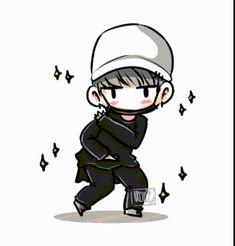 YASSSSS finally someone made a dancing Yoongi/Suga Bts Chibi, Jimin, Bts Bangtan Boy, Yoongi Bts, Suga Suga, Taehyung, Rap Monster, K Pop, Wattpad