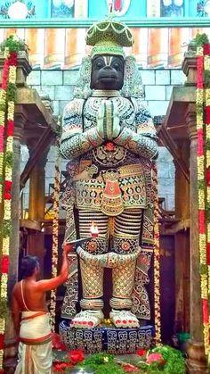 Anjaneyar at Namakkal, Tamilnadu Hanuman Pics, Hanuman Chalisa, Hanuman Images, Krishna, Durga, Saraswati Goddess, Hanuman Ji Wallpapers, Vietnam, Amazing India