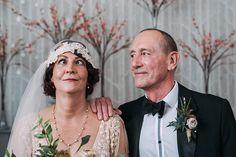 Hampton Manor Wedding Photography comedy portrait of bride and groom