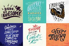 @Dudebeawesome! Following this account is like cracking open a fortune cookie to find, not only a positive fortune, but a well-designed one too. Dude, Be Awesome! exists to deliver positive encouragement via handwritten type and eccentric doodles.Fonts of Instagram: Our 10 Favorite Type Obsessed Accounts