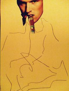 "Saatchi Online Artist Leni Smoragdova; Collage, ""674+64+64kutgruyr"" #art"