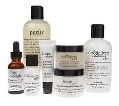 Philosophy skin care products are awesome.