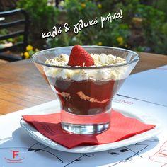 Μαζί θα κάνουμε τον Ιούνιο, τον πιο γλυκό μήνα!  ☎️ 2316.008.188 📍 Τσιρογιάννη 5, απέναντι από τον Λευκό Πύργο  #handmade_happiness #Λευκός_Πύργος #famigliano #ourplace #myfamigliano #happysummer #hellojune Chocolate Fondue, Pudding, Desserts, Handmade, Food, Tailgate Desserts, Deserts, Hand Made, Eten