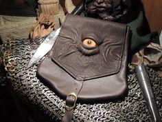 Dragon eye belt pouch.
