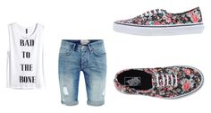 """Untitled #44"" by bluepeacesign on Polyvore featuring H&M and Vans"
