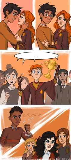Harry and Ginny kiss part 2