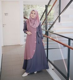 Modern Islamic Clothing, Dress Muslim Modern, Muslim Dress, Abaya Fashion, Muslim Fashion, Fashion Dresses, Mode Abaya, Mode Hijab, Modest Dresses