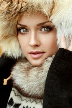 Russian lady in fur hat                                                                                                                                                                                 More