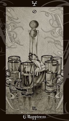 HP Tarot - 6C Happiness by Ellygator.deviantart.com on @deviantART